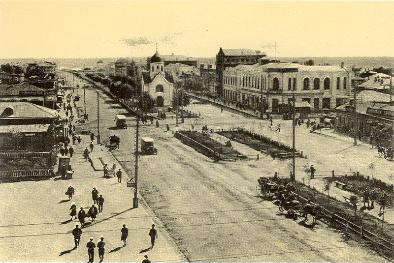 Красный проспект, начало 1930-х