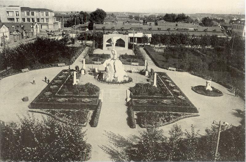 Сквер героев революции (1930-е)
