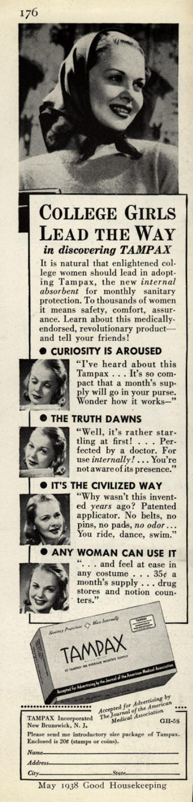 Tampax Inc., 1938