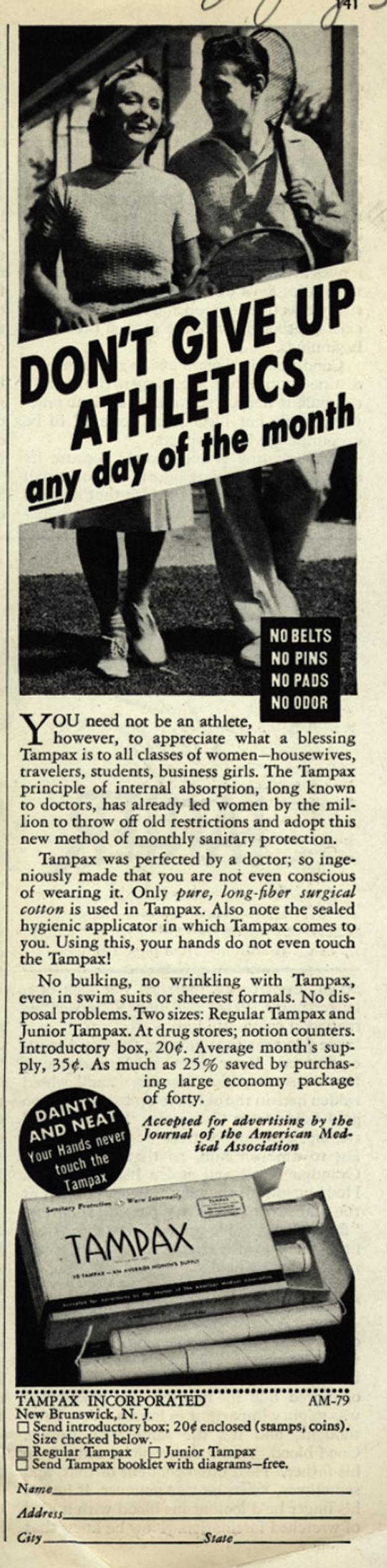 Tampax Inc., 1939