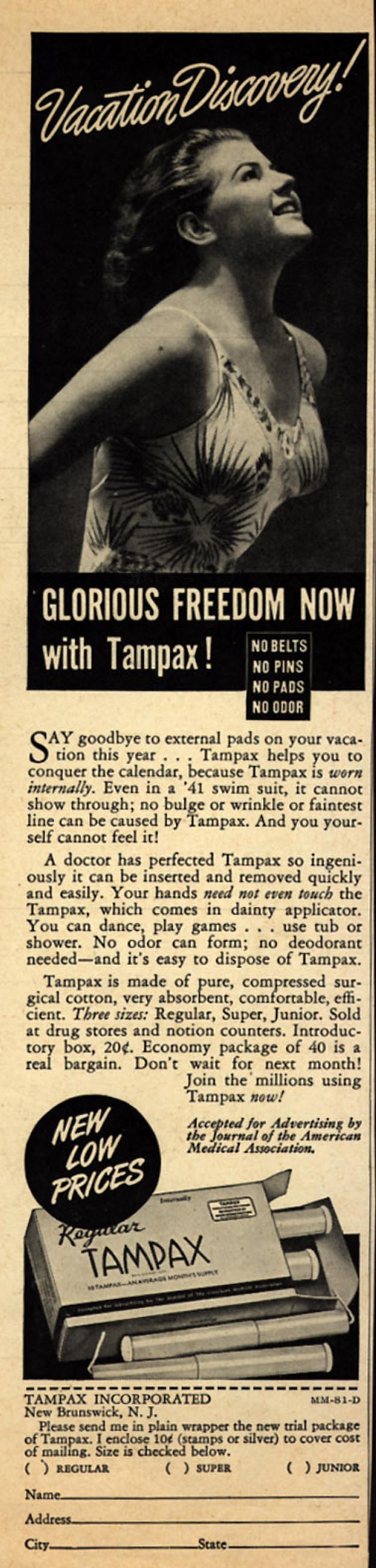 Tampax Inc., 1941