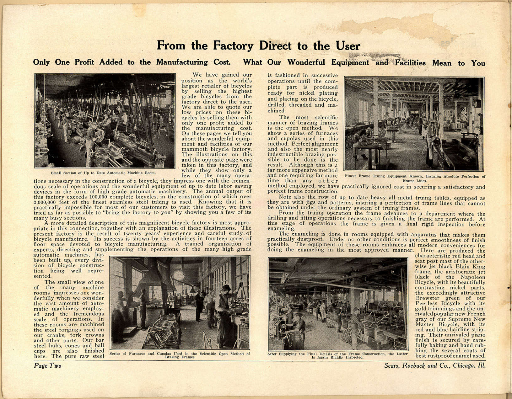 Sears, Roebuck & Co., 1914