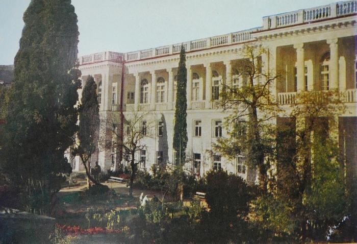 Гостиница Ореанда, 1960
