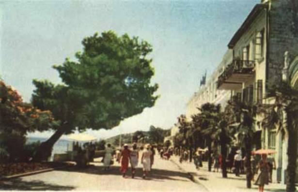 Набережная, 1955