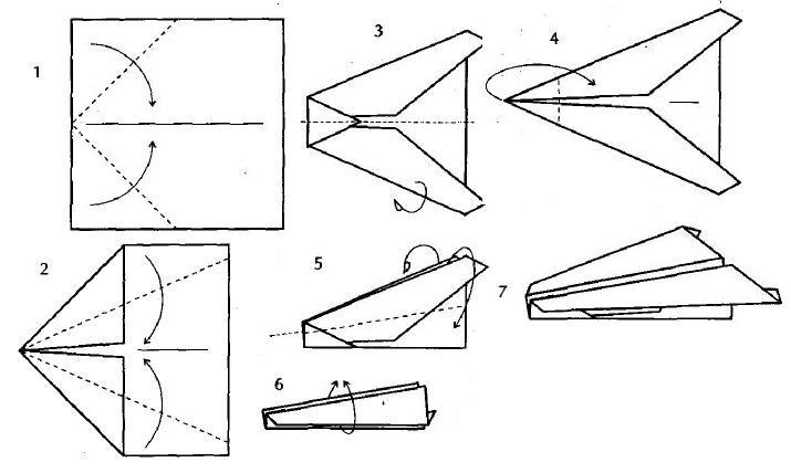 Как сделать самолет крутой из бумаги