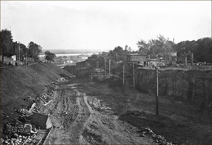 Строительство Похвалинского Съезда, 1930-1935 гг.