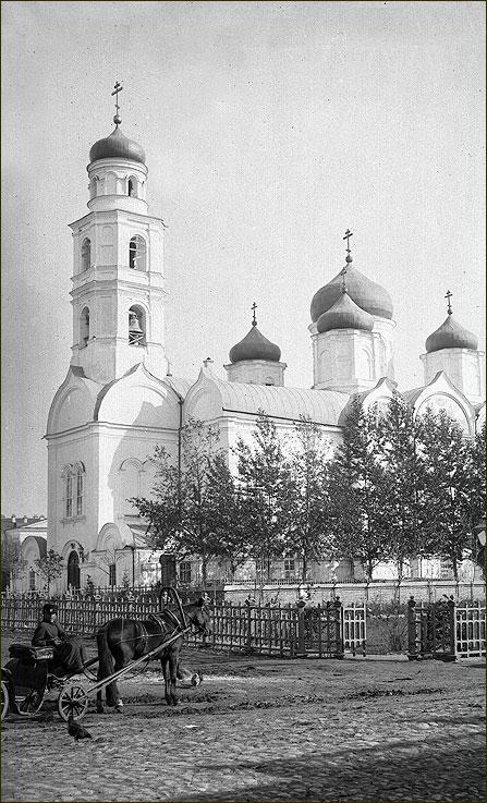 Троицкая Верхнепосадская церковь, 1890-e гг.