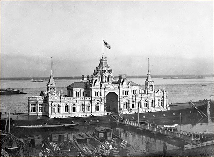 Царская баржа в Нижнем Новгороде