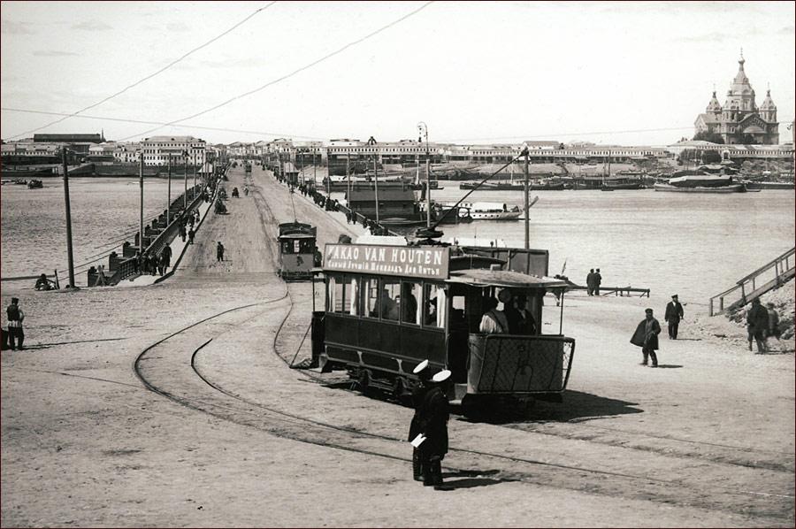 Вид на Плашкоутный мост