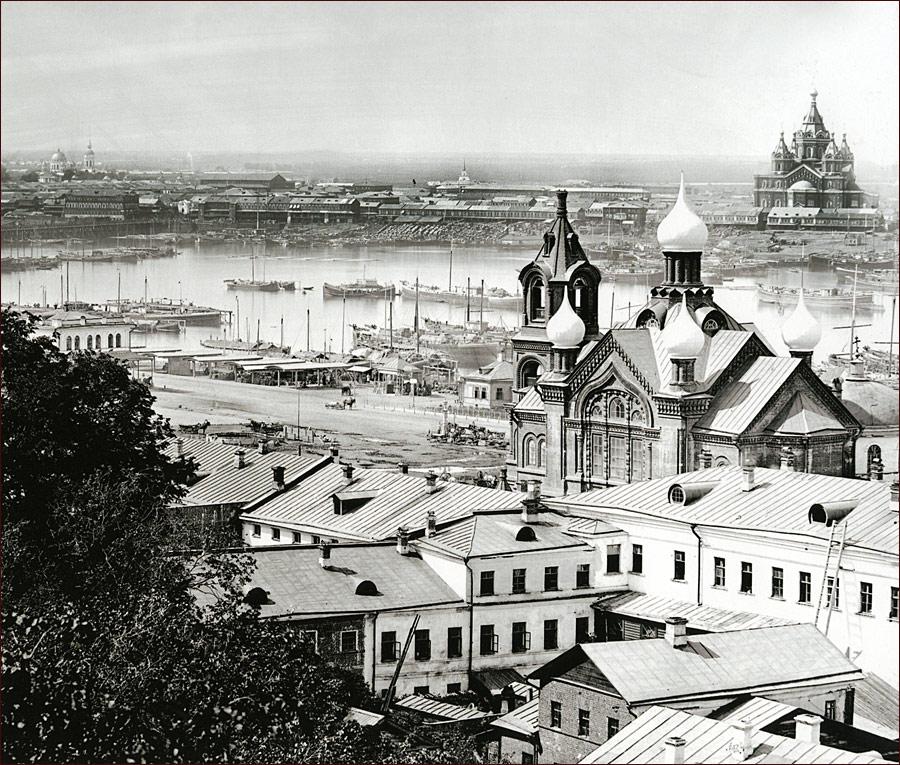 """Церковь Косьмы и Дамиана (в настоящее время здание """"Нижновэнерго"""")"""