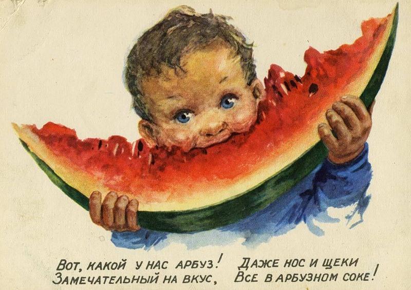 Анекдоты про арбузы
