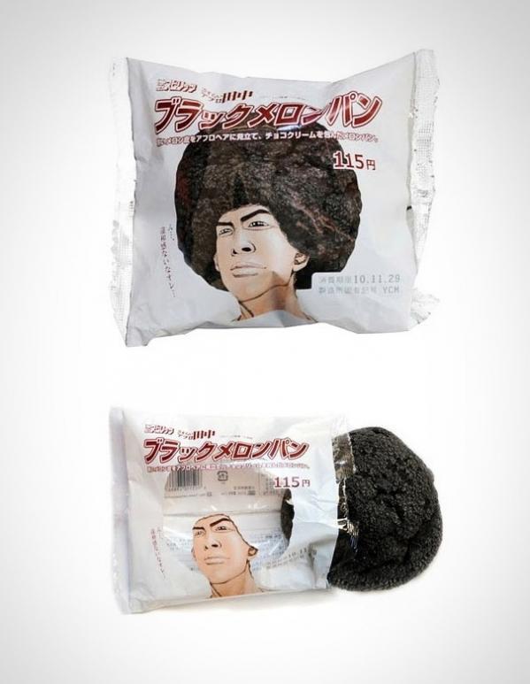 Упаковка японской булочки