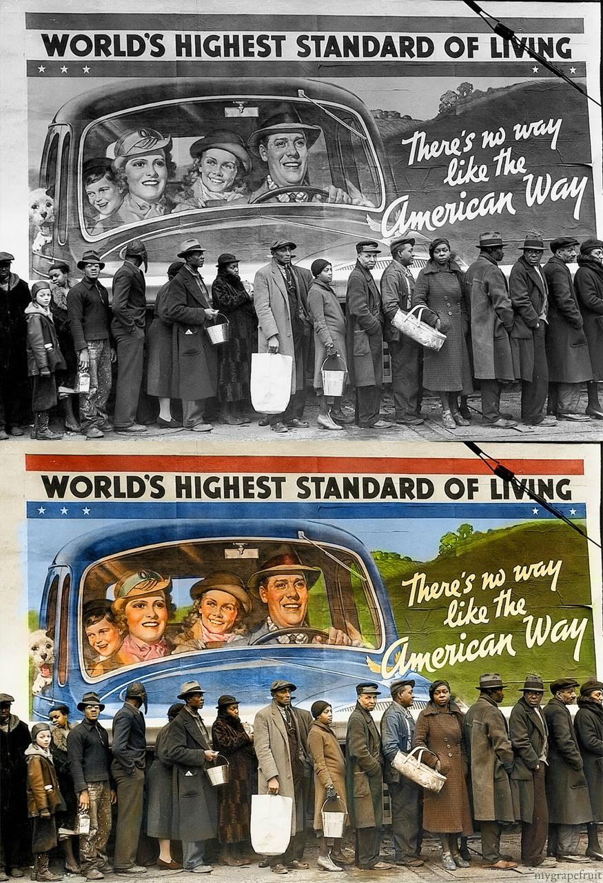 Margaret Bourke-White World's Highest Standard of Living, 1937