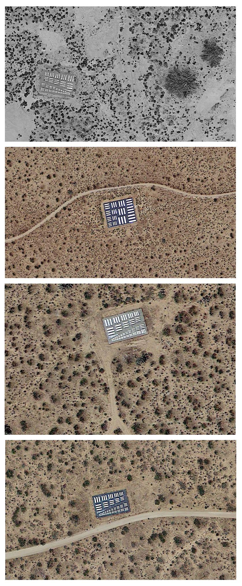 объекты для калибровки камер спутников и самолетов