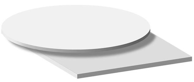 3D-Space поворотный стола с вращением диска рукой SM-40-36