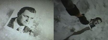 Когда Лукашин выбрасывает в окно фотографию Ипполита, на ней виден привычный нам герой, сыгранный Яковлевым. А когда Надя подбирает её со снега, там изображён уже Олег Басилашвили. Дело в том, что именно Басилашвили изначально планировался на роль Ипполита, но был вынужден отказаться из-за смерти отца. Однако эпизод с поднятием фотографии уже успели отснять, а заменить на фото с «яковлевским» Ипполитом попросту забыли