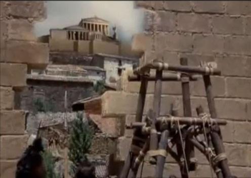 Socrates (1971), афинский Акрополис