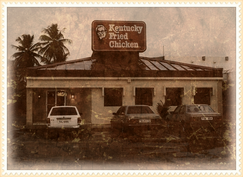 Couva – 1981 Initially opened as dine in and carry out only, the restaurant was enhanced in 1988 to include drive thru facilities