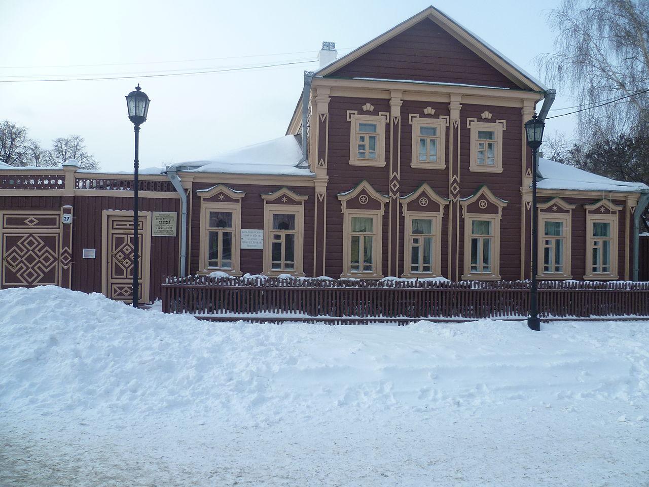 Музей-усадьба ак. Павлова в Рязани, 2012, дом, в котором Иван Петрович прожил с 1849 по 1870 годы