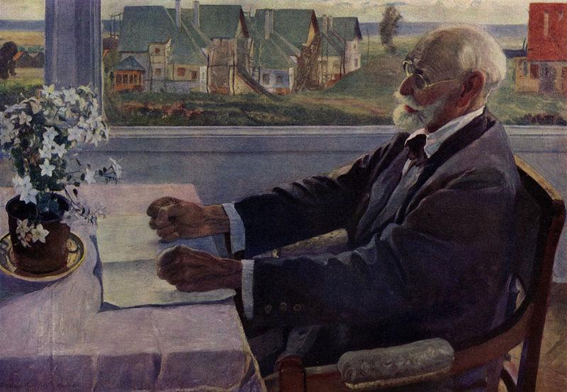 Портрет И.П. Павлова, 1935 г.