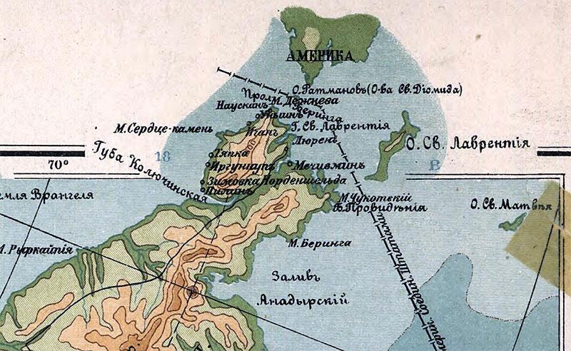 Большой Диомид или остров Ратманова