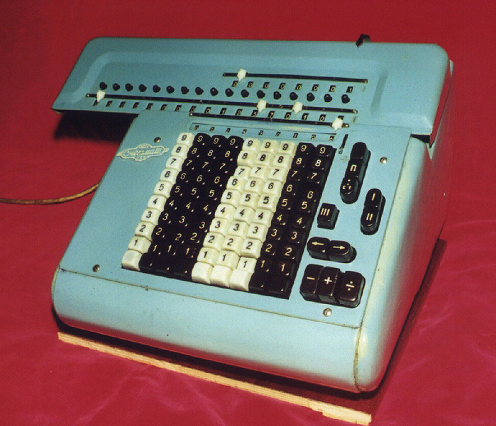 механическая счетная машина
