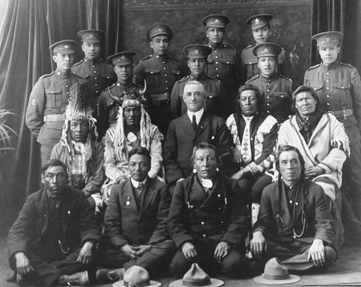 индейцы племени Микмак