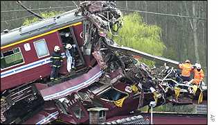железнодорожная катастрофа в Бельгии
