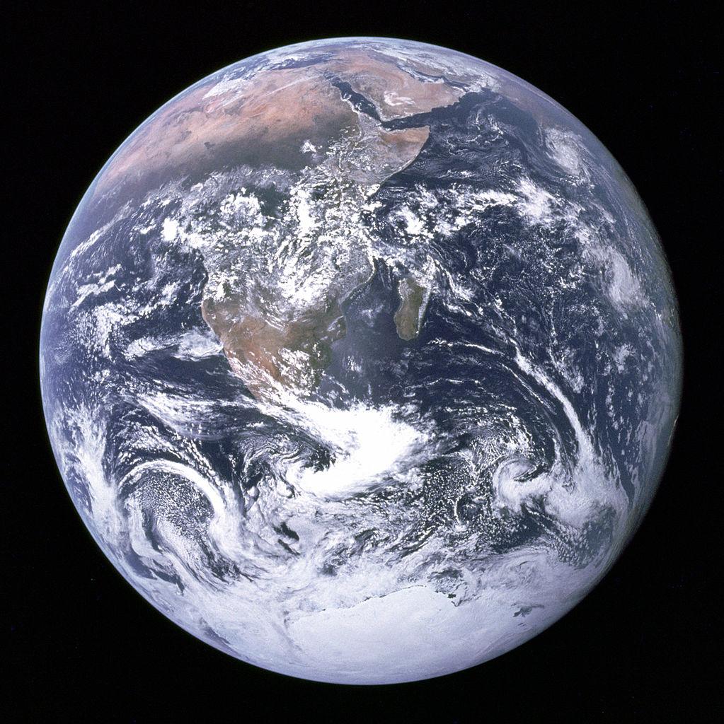 Одна из известнейших фотографий Земли