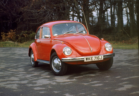 Volkswagen Beetle UK-spec 1970
