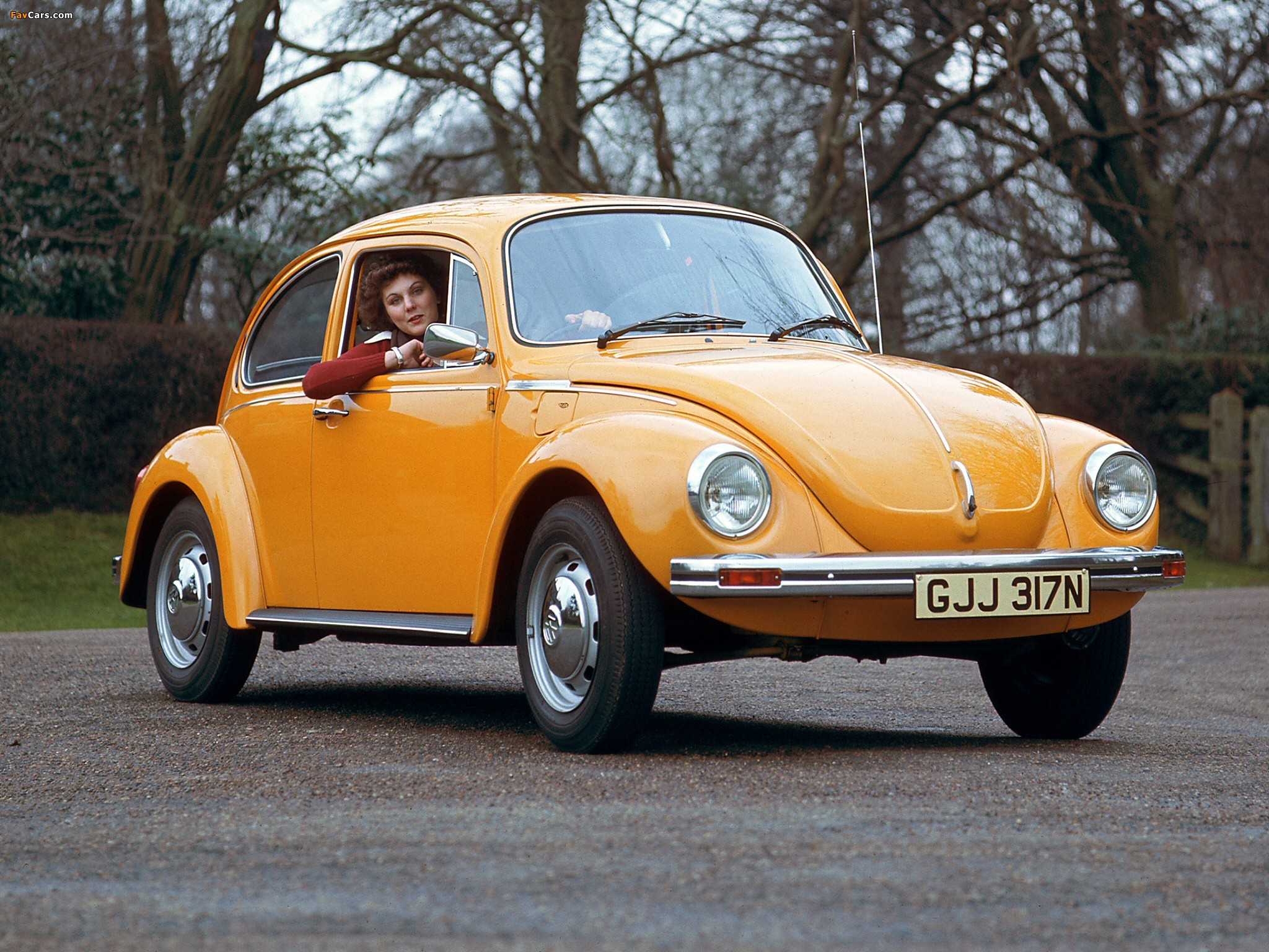 Volkswagen Beetle UK-spec 1970(1)