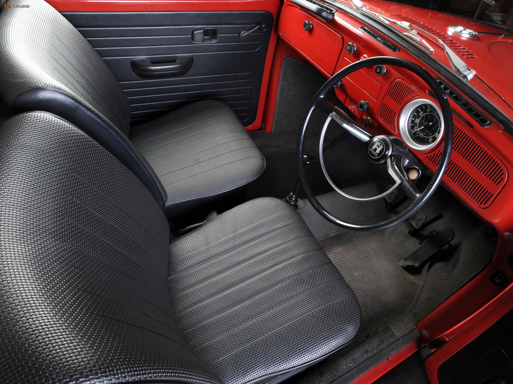 Volkswagen Beetle UK-spec 1970