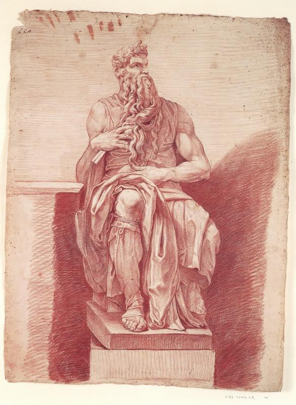 Моисей с рогами