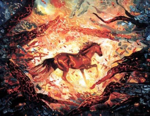 пожар в Древней Руси