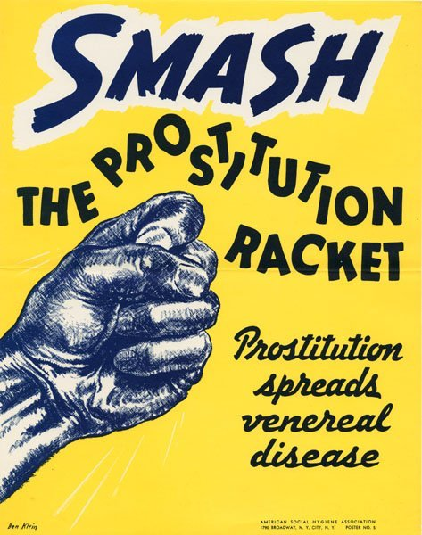 Плакаты против проституции