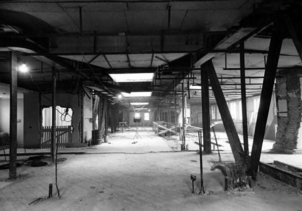Фотографии реконструкции Белого дома