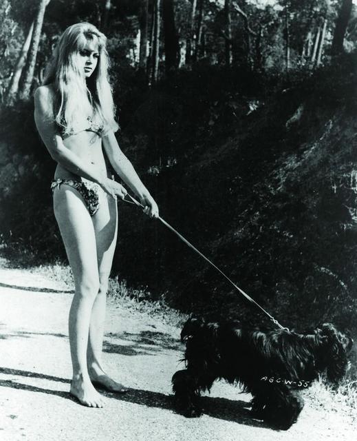 Брижит Бардо с животными