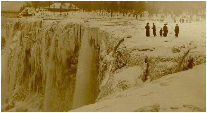 Ниагарский водопад, 1911