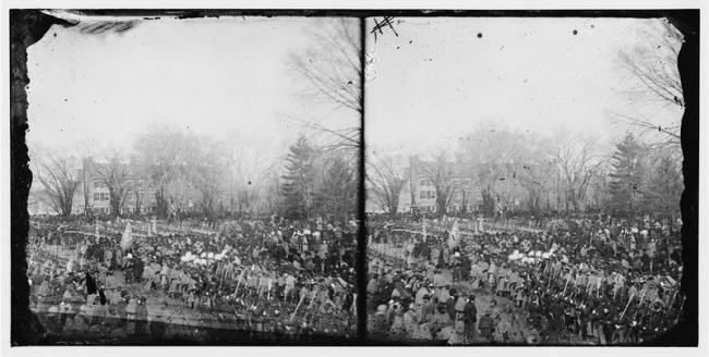 Первая фотография инаугурации президента