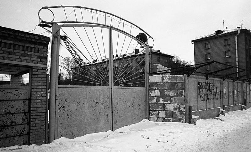 Ворота в старый зоопарк на ул. Гоголя