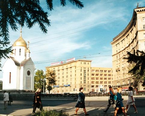 Красный проспект - Октябрьская магистраль