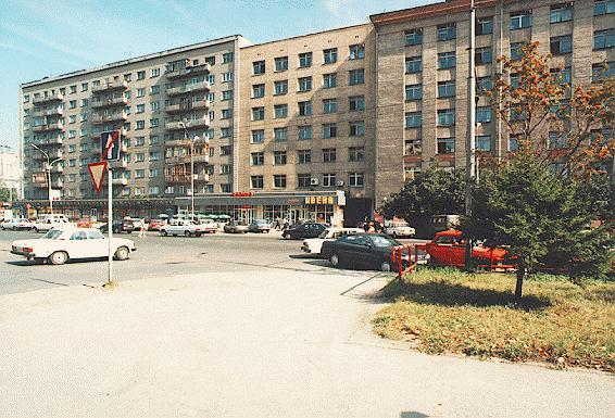 Пересечение Урицкого и Вокзальной магистрали