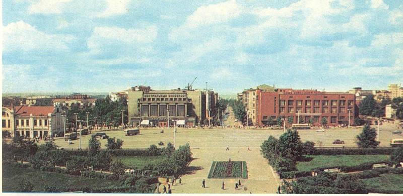 Площадь Ленина 1965