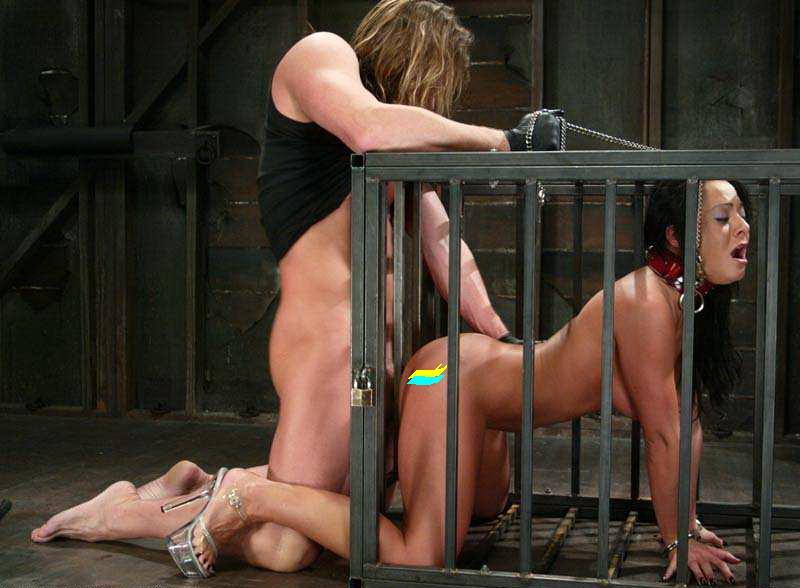рабыни в клетке мужская доминация фото