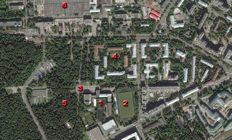 Дворец культуры им. Горбунова на Филях в Москве