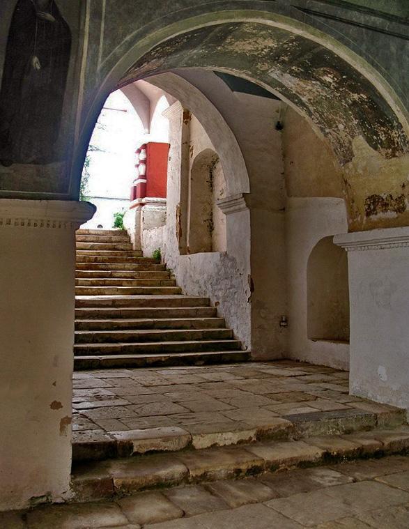 Лестницы в Саввино-Сторожевском монастыре