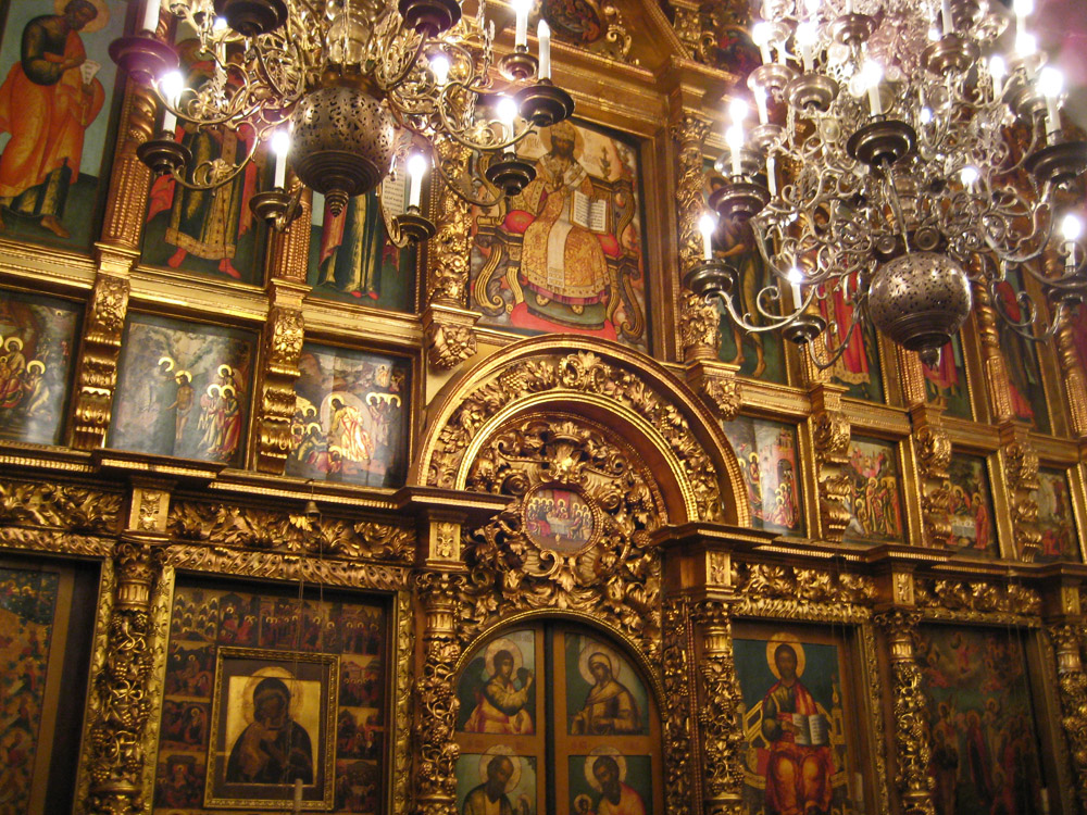 Иконостас церкви двенадцати апостолов
