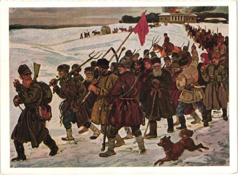 pochtovaja_kartochka_propaganda_muzej_revoljucii_razgromili_khudozhnik_shestopalov_1931.jpg