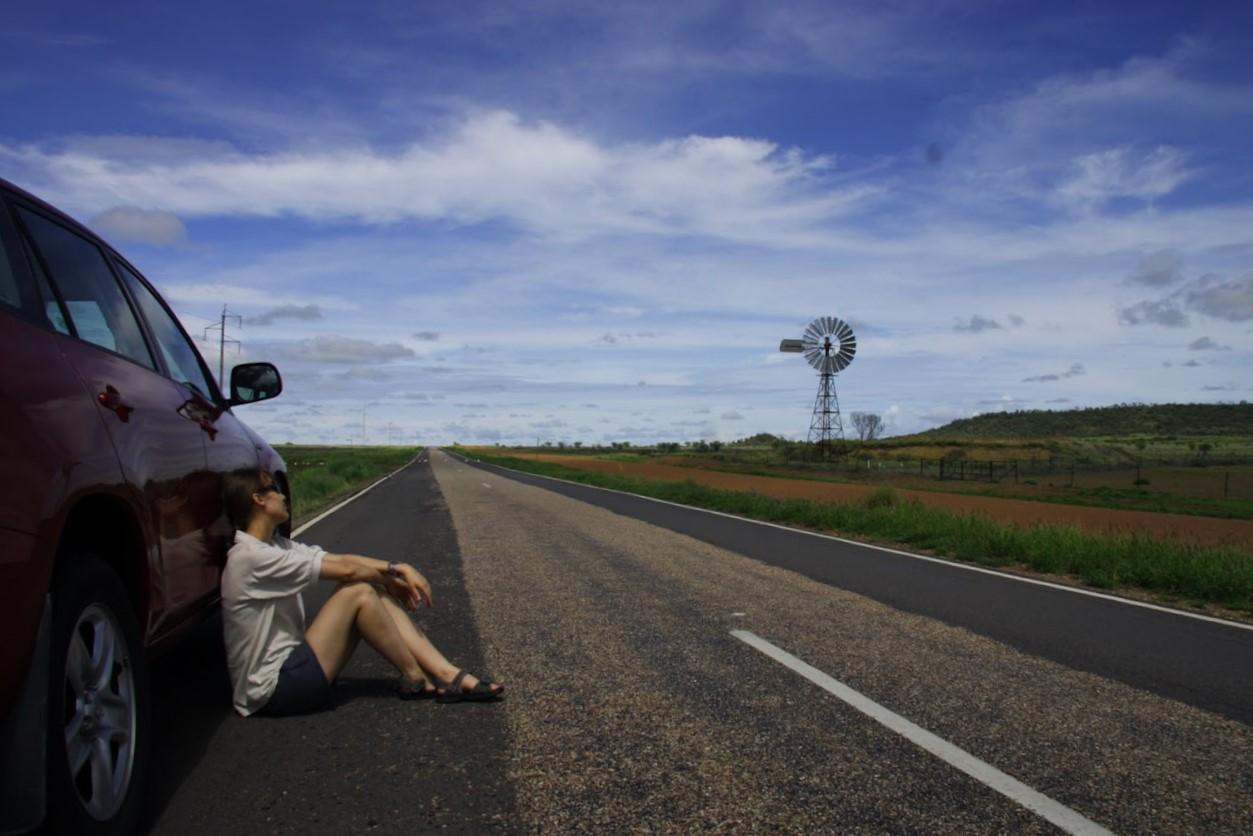 Где-то в австралийской пустыне (2009 год)