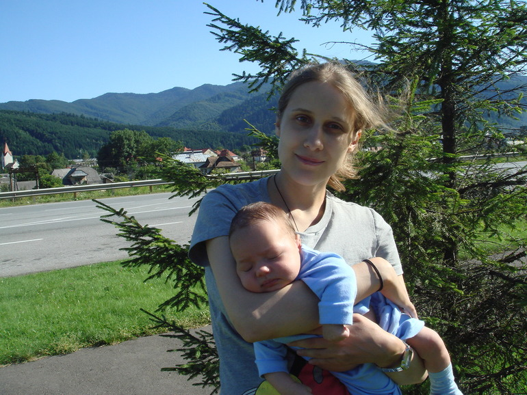 Где-то между Львовской и Закарпатской областями (2011 год)